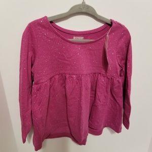 Gymboree Purple Skirted Long Sleeve T-Shirt 2T
